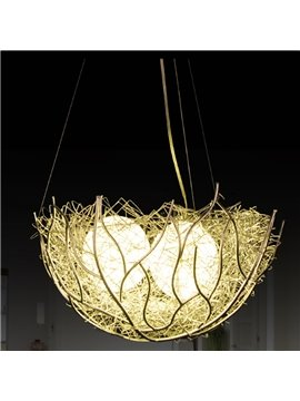 Fancy Creative Bird's Nest Design Home Decorative Pendant Light