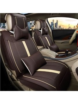 Multi-Use Massage And Refrigeration Features Remote Control Durable Leather Universal Five Car Seat Cover