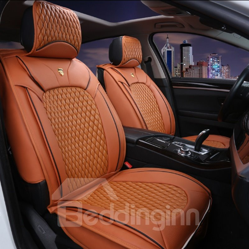 Fresh Orange Popular Color With Durable Leather Material