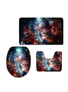 Vast Galaxy 3D Printing 3-Pieces Toilet Seat Cover