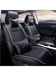 New Thick Stretch-Resistant PU Material High-Grade Cost Effective Universal Five Car Seat Cover