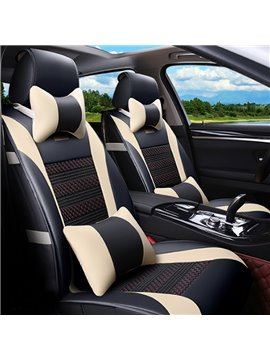 Super High Cost-Effective And Thick Durable PU Ice Silk Material Universal Car Seat Cover