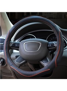 High-Grade Durable Anti-Skid PU Material Medium Car Steering Wheel Cover