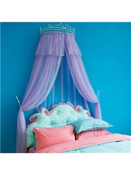 Princess Style Multicolor Option Preferred Fabric Kids Bed Canopy