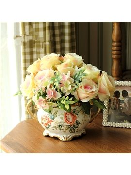 Charming Modern Creative Desktop Artificial Flower Sets