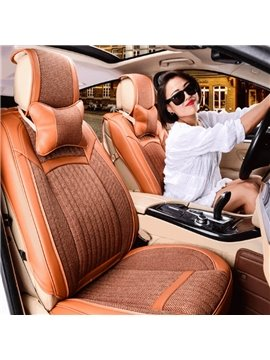 Luxurious Classic Fashion Business Design Durable Material Universal Five Car Seat Cover