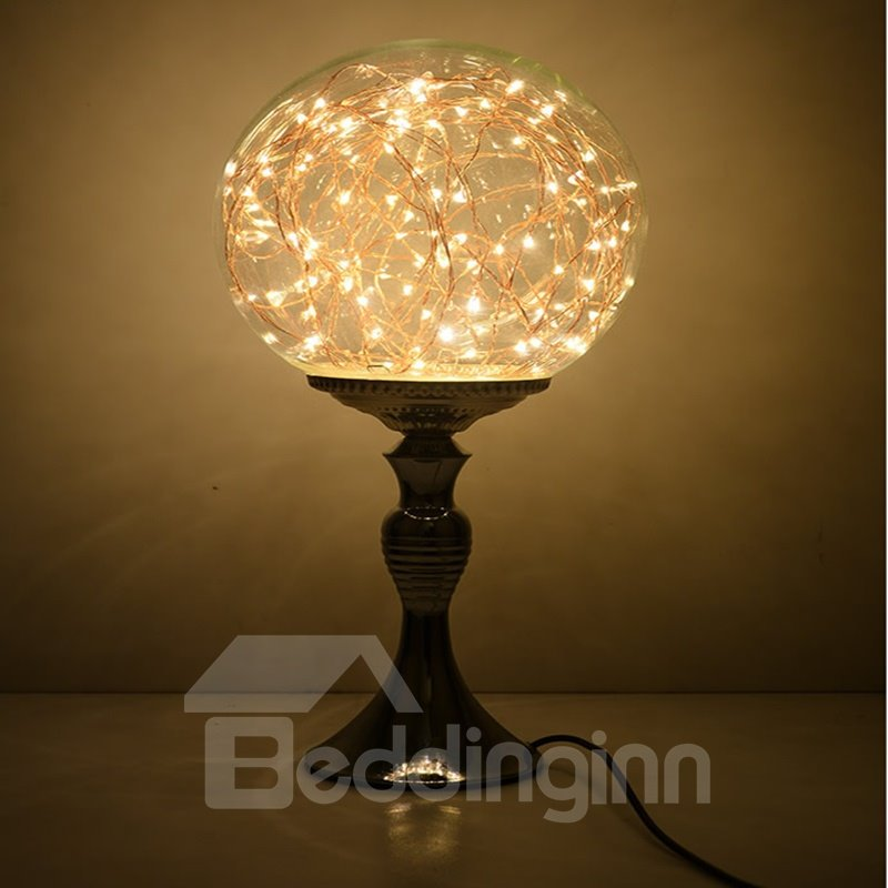 Classic creative dimming control glass lamp shade decorative table lamp - Creative lamp shades ...