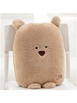 Lovely Cartoon Small Bear Pattern Design Three Kinds Of Use Multi-Functional Car Pillow