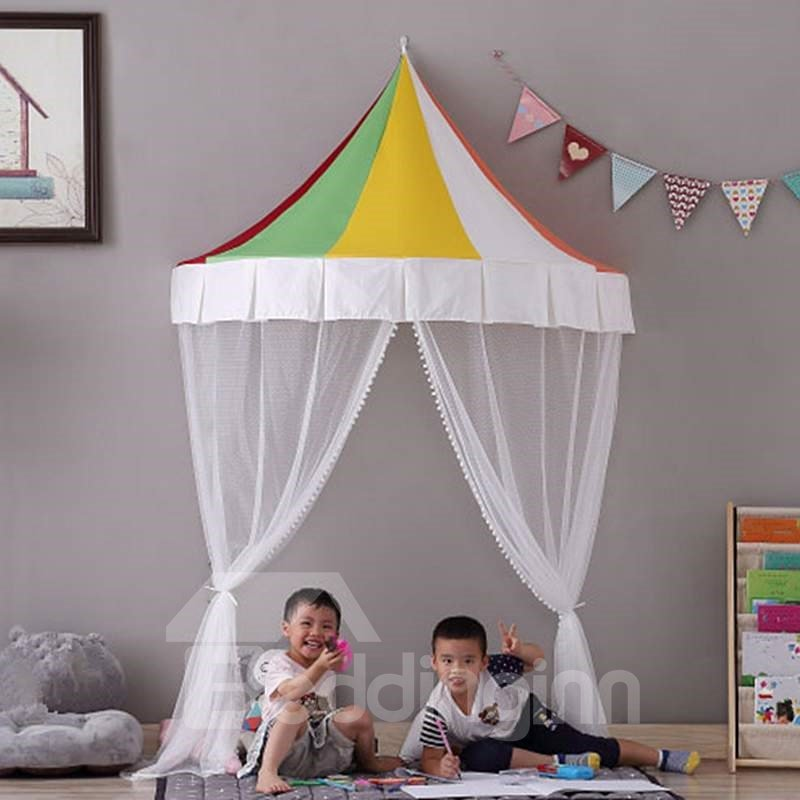 Colorful Semicircle Design Decoration Indoor Netting Tent