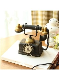 Classic American Style Phone Shape Design Home Desktop Decorations