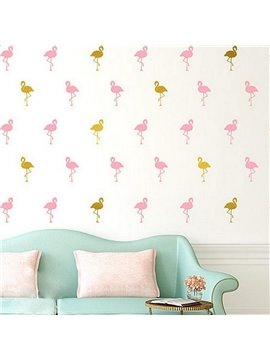 Fashion Flamingo Design Decoration Wall Decal