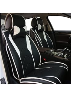 New Fashion Sport Design With Streamline Craft Real Leather Material Universal Car Seat Cover