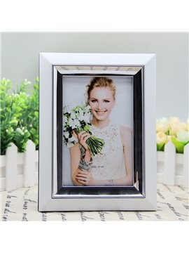 Modern Fashion White Simple Style Home Decorative Desktop Photo Frame