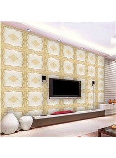 Special Creative Plaid Design American Style Home Decorative Wall Murals