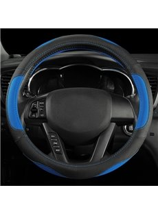 Beautiful Bright Colors Matching Pattern Smooth Wearable Medium Steering Wheel Cover