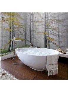 Autumn Forest Scenery Pattern Design Waterproof 3D Bathroom Wall Murals