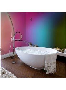 Unique 4 Colors Pattern Design Decorative Waterproof 3D Bathroom Wall Murals