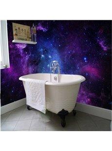 Dreamy European Style Galaxy Starry Sky Pattern Waterproof 3D Wall Murals