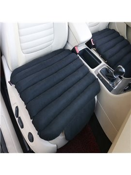 Unique 3D Design Velvet Surface Material And High-Grade Cotton Filler 1-Piece Black Front Car Seat Mat