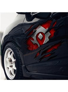 Cool Fashion Totem Pattern Design Side Door Large Car Sticker