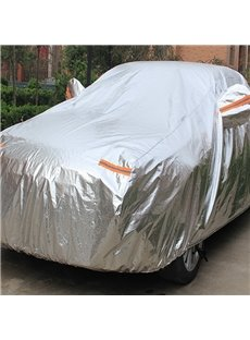 Full Car Body Cover Customed-Fit Popular Non-Woven Fabrics With Aluminum Foil Material Car Sun Shades