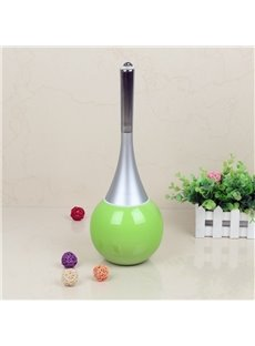 Cute Design Green Toilet Brush Holder Set