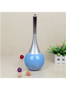 Cute Design Blue Toilet Brush Holder Set