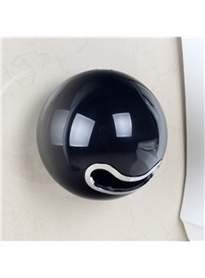 Creative Black Acrylic Toilet Paper Holder