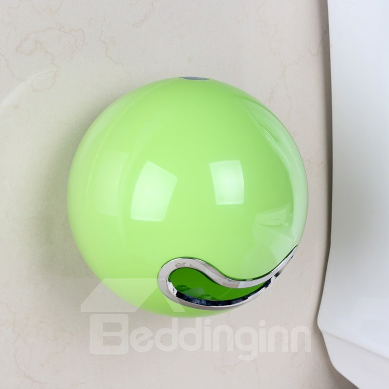 Creative green acrylic toilet paper holder Creative toilet paper holder