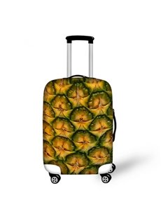 Pineapple Peel Pattern 3D Painted Luggage Cover