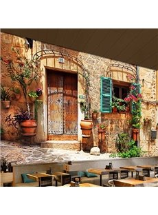 Classic European Style House Pattern Waterproof Splicing 3D Wall Murals