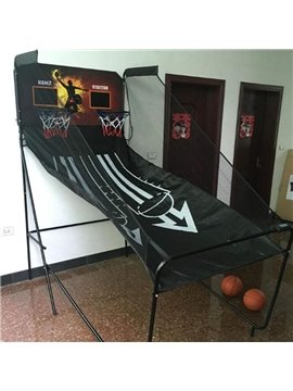 Simple Design Indoor and Outdoor Fold-out Basketball Game