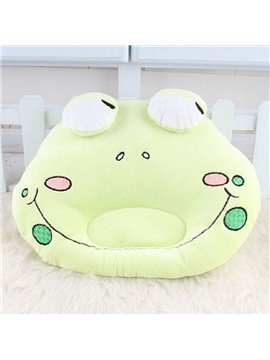Super Lovely Frog Design Prevent Flat Head Baby Pillow