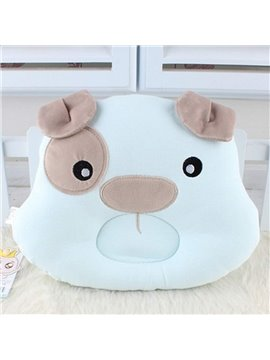 Adorable Cartoon Dog Design Prevent Flat Head Baby Pillow
