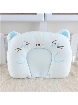 Soft U Shape Cat Pattern Prevent Flat Head Baby Pillow