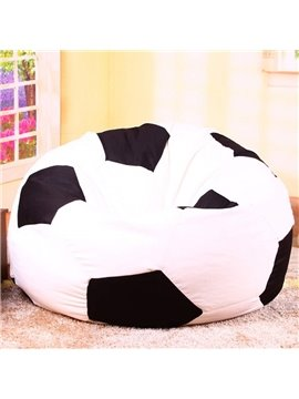Soft Creative Soccer Ball Design Bean Bag Chair