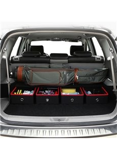 Luxury Drawer Type Design High Capacity Single 1-Piece Car Trunk Organizer