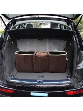 Super Big High Capacity Durable Mixing Material Cost-Effective Car Trunk Organizer