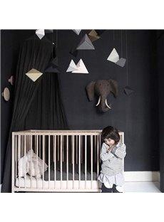 Cool Signature Cotton Fabric Black Kids Canopy