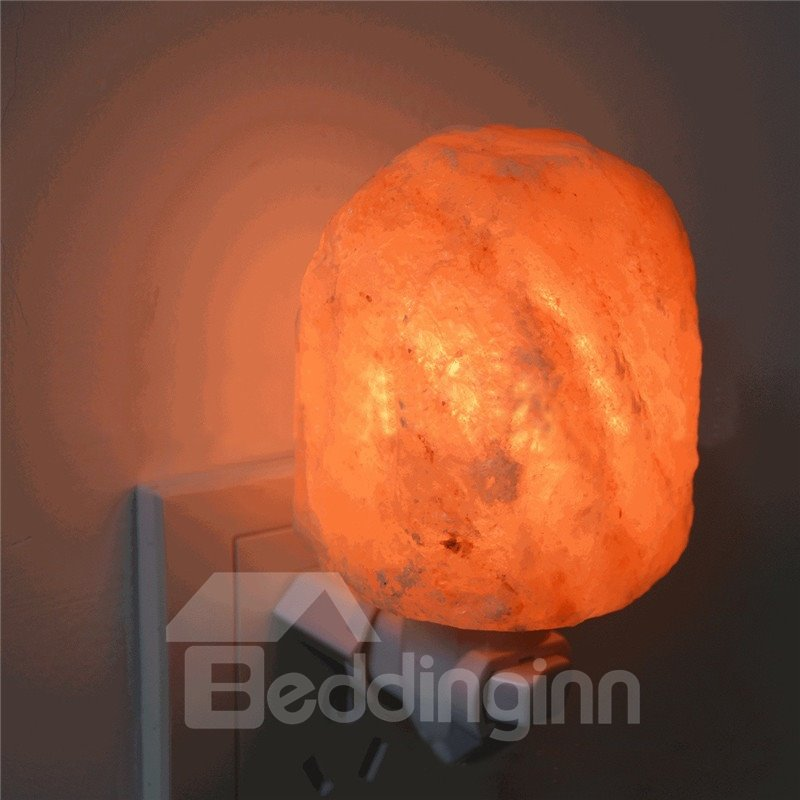 Natural Shaped Himalayan Salt Lamp Air Purifier Crystal Lamp Night Bedroom 12921793