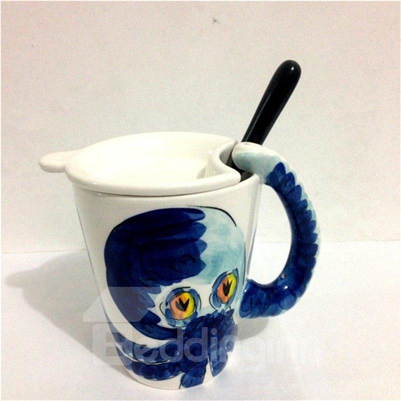 3D Adorable Animals Octopus Cup Set Ceramics Milk Cup sets Coffee Cup sets 12931242