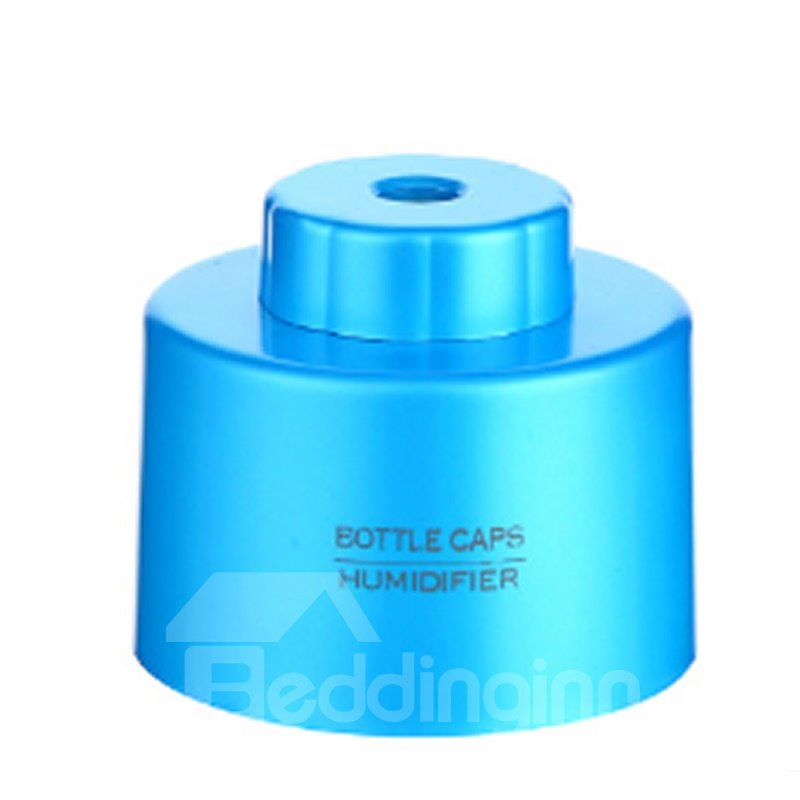 Mini Portable Bottle Cap Air Humidifier with USB Cable 12967210