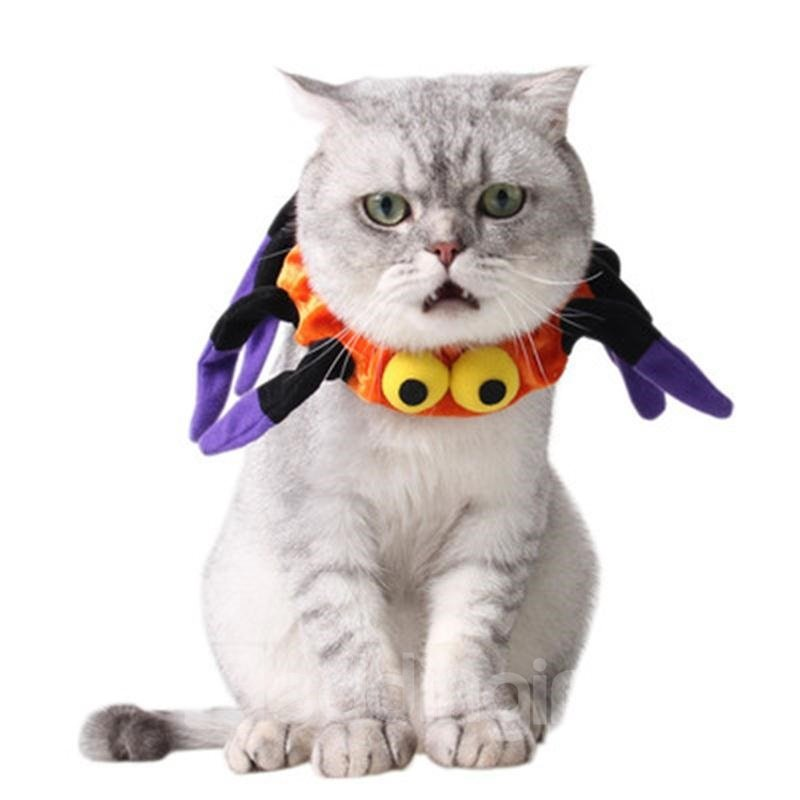 Halloween Costume Spider Neck Cat Dog Collar 13019518