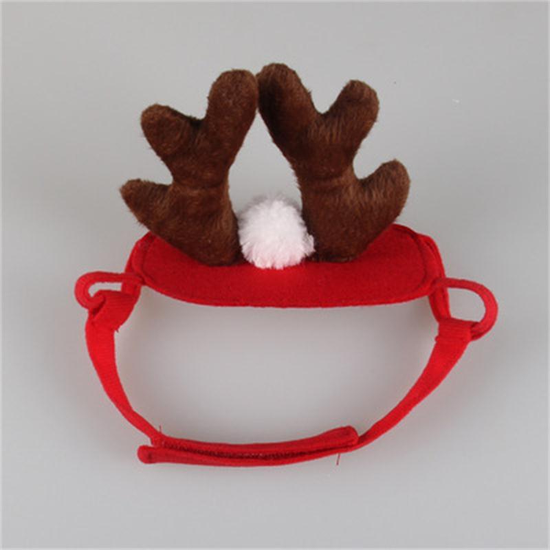 Holiday Antler Headband Pet Dog Cat Hat Christmas Cosplay Costume