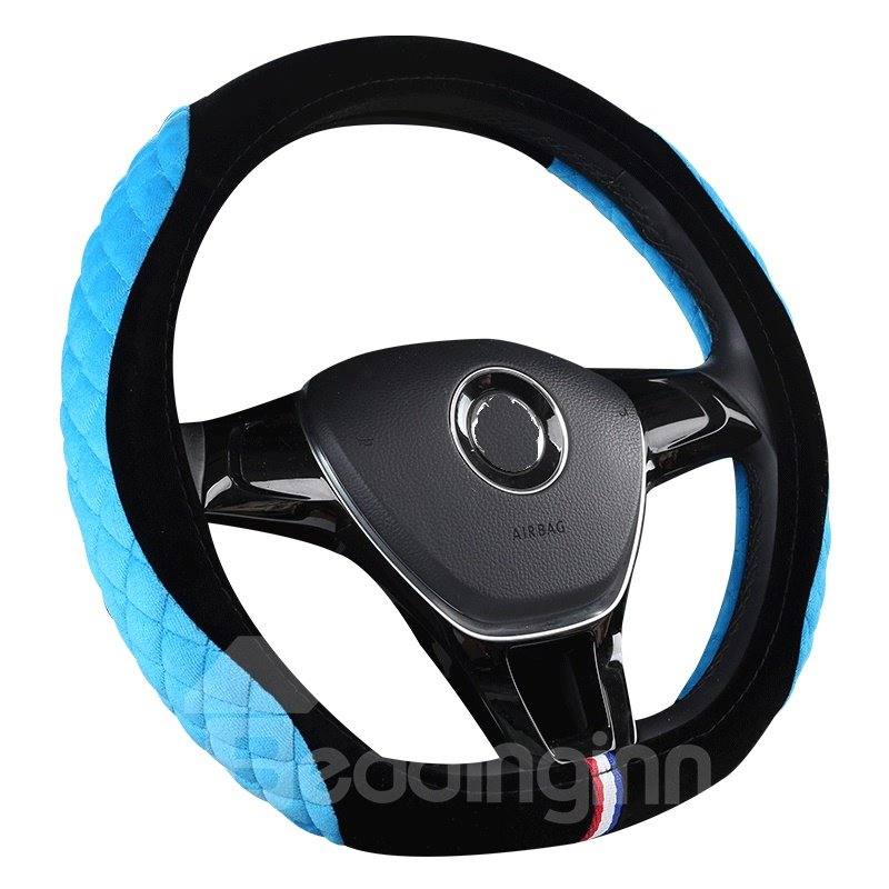 Stereo Clipping Suede Material Sports Style Steering
