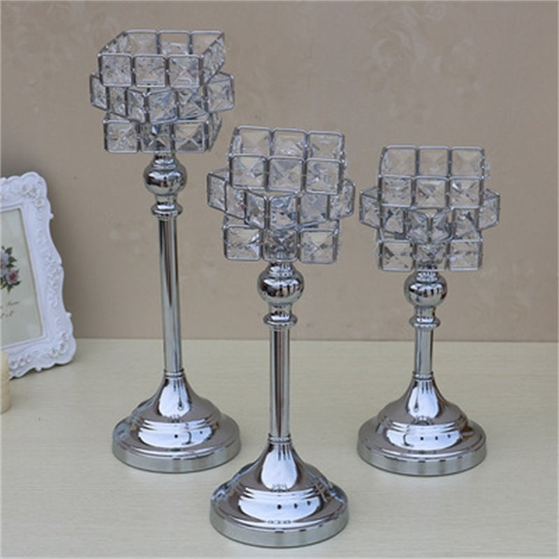 European Style Modern and Fashion Silvery Crystal