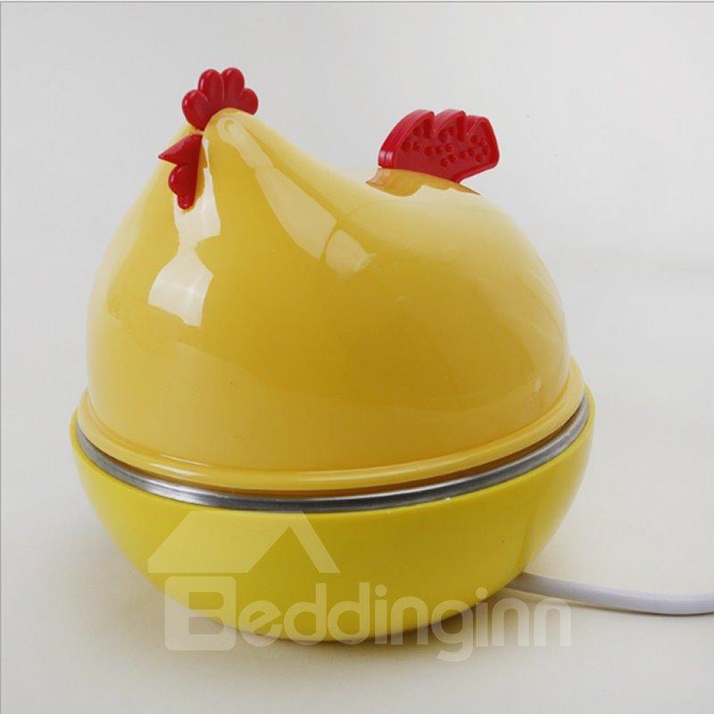 Hen Shape Kitchen Stainless Steel Egg Cooker