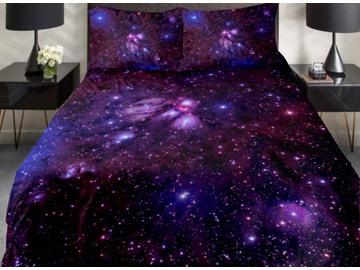 best selling parure de lit galaxie pas cher et housses de. Black Bedroom Furniture Sets. Home Design Ideas