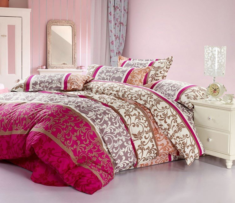 Luxurious Abstract Decorative Pattern 4 Piece Bedding Sets