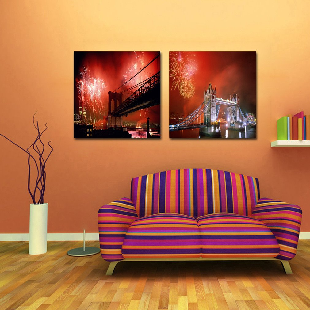 New Arrival London Tower Bridge Film Art Wall Prints